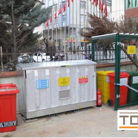 İkincil Muhafaza Kapları (Secondary Containments)