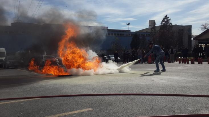 Yangın Tatbikatı 2018